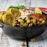 Falafal Burrito Bowl