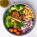 Garlic & Herb Salmon Bowl